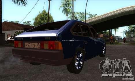 2141 AZLK personnes Edition pour GTA San Andreas vue de droite
