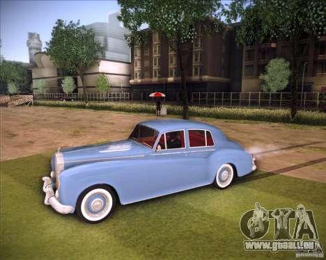 Rolls Royce Silver Cloud III pour GTA San Andreas sur la vue arrière gauche