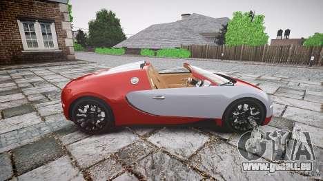 Bugatti Veyron Grand Sport [EPM] 2009 pour GTA 4 est une gauche