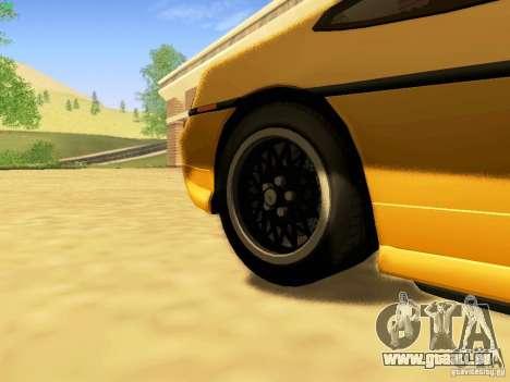 Pontiac Fiero V8 pour GTA San Andreas vue de droite