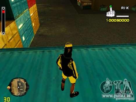 Peau bum v3 pour GTA San Andreas quatrième écran