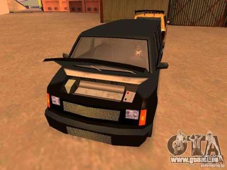 Moonbeam NN pour GTA San Andreas vue arrière