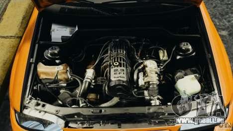 Ford Escort RS Cosworth pour GTA 4 est une vue de l'intérieur