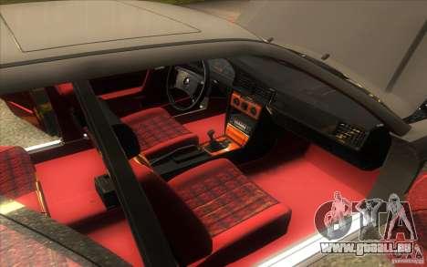 Mercedes-Benz 190E W201 pour GTA San Andreas vue de côté