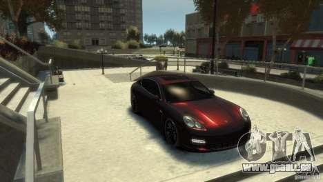 PORSCHE Panamera Turbo für GTA 4