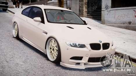 BMW M3 Hamann E92 pour GTA 4 est un côté