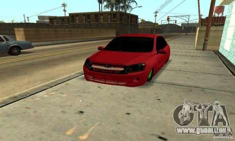 Lada Granta Dag Style pour GTA San Andreas vue arrière