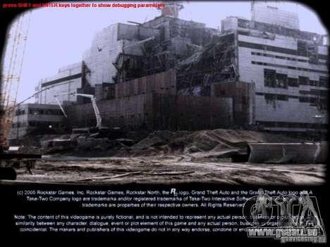Écrans de chargement Chernobyl pour GTA San Andreas deuxième écran