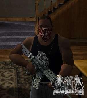 New Bandanas Style pour GTA San Andreas deuxième écran