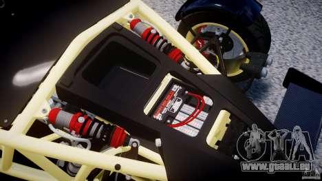 Ariel Atom 3 V8 2012 pour GTA 4 Vue arrière
