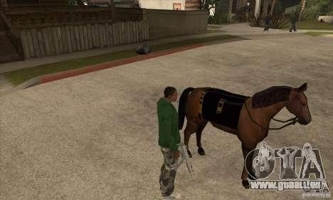 Cheval pour GTA San Andreas deuxième écran