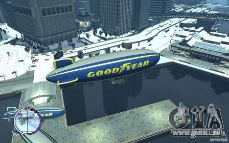 Dirigeable pour GTA 4 est une gauche