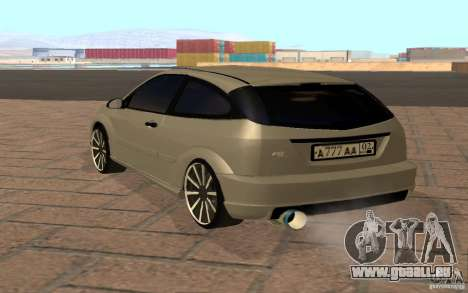 Ford Focus Light Tuning pour GTA San Andreas vue de droite