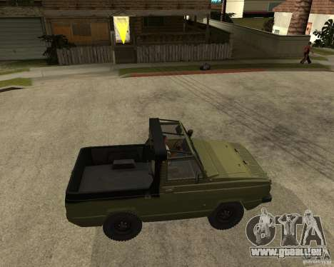 UAZ 3907 Jaguar für GTA San Andreas rechten Ansicht