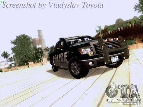 Ford F-150 Interceptor pour GTA San Andreas