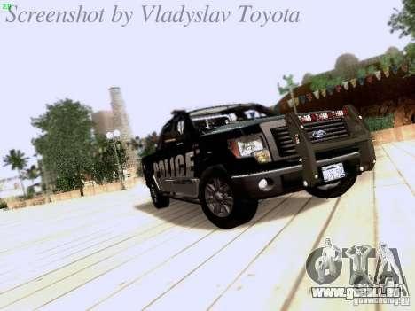 Ford F-150 Interceptor für GTA San Andreas