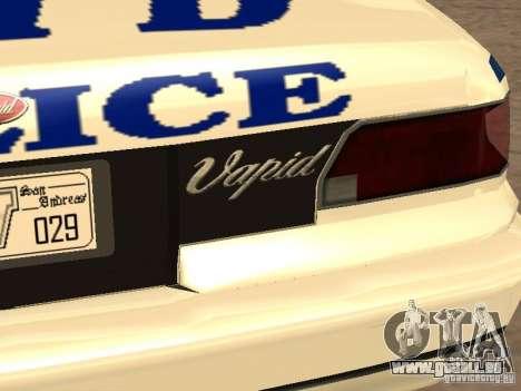 Die Polizei von GTA4 für GTA San Andreas Unteransicht