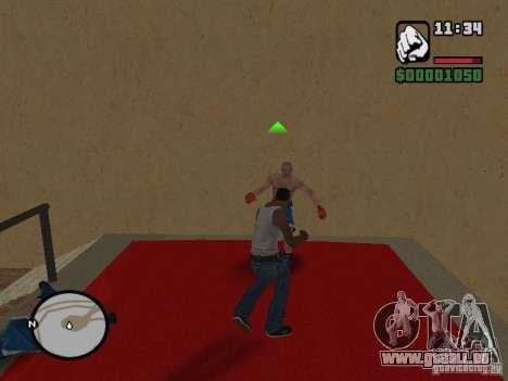 Training and Charging 2 pour GTA San Andreas deuxième écran