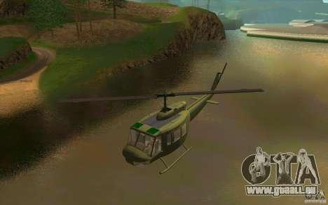 UH-1D Slick für GTA San Andreas