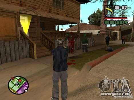 Bunana Gun pour GTA San Andreas deuxième écran
