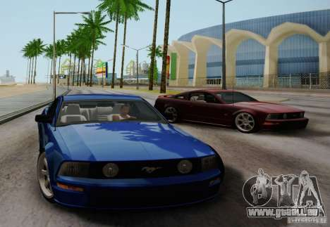 Ford Mustang Twin Turbo pour GTA San Andreas vue de droite
