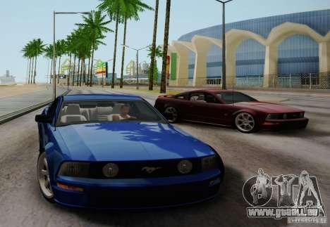 Ford Mustang Twin Turbo für GTA San Andreas rechten Ansicht