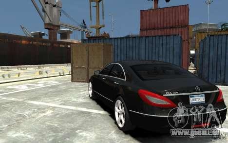Mercedes-Benz CLS 350 pour GTA 4 Vue arrière de la gauche
