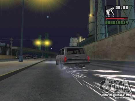 New Realistic Effects für GTA San Andreas achten Screenshot