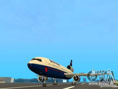 McDonell Douglas DC10 British Airways pour GTA San Andreas