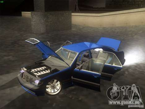 Mercedes-Benz S600 für GTA San Andreas rechten Ansicht