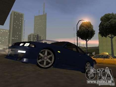 Nissan Skyline R33 SGM pour GTA San Andreas laissé vue