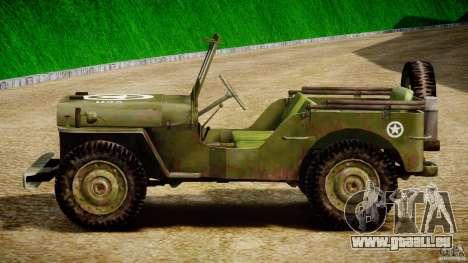 Jeep Willys [Final] für GTA 4 Seitenansicht