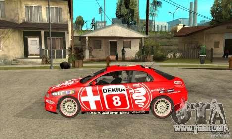 Alfa Romeo GT pour GTA San Andreas laissé vue