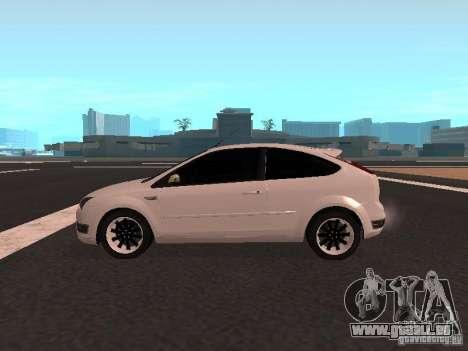 Ford Focus II pour GTA San Andreas laissé vue