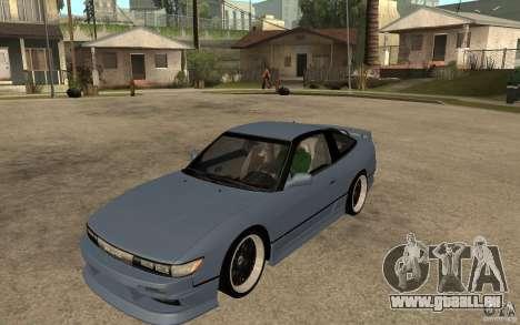 Nissan Silvia80 - EMzone Edition für GTA San Andreas