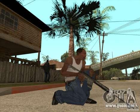 M4A1 für GTA San Andreas dritten Screenshot