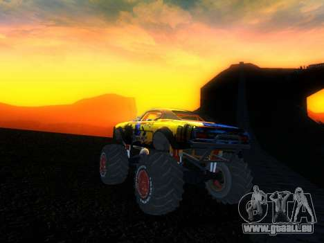Fire Ball Paint Job 2 für GTA San Andreas linke Ansicht