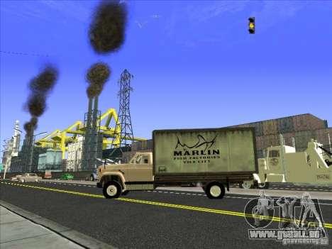 Yankee auf der Grundlage von GMC für GTA San Andreas Seitenansicht
