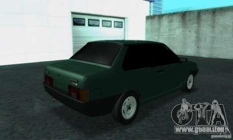 VAZ 21099 Coupe für GTA San Andreas rechten Ansicht
