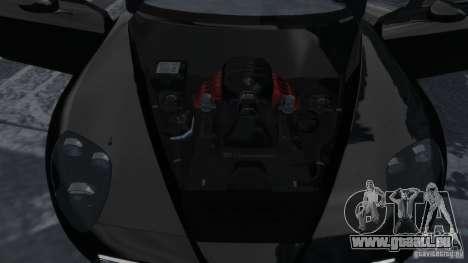 Alfa Romeo 8C Competizione Spider v1.0 für GTA 4 Innenansicht