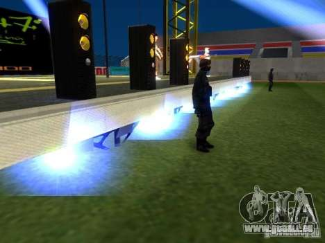 Concert de l'AK-47 v 2.5 pour GTA San Andreas septième écran