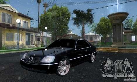 Mercedes-Benz 600SEC pour GTA San Andreas
