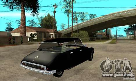 Citroen ID 19 pour GTA San Andreas vue de droite