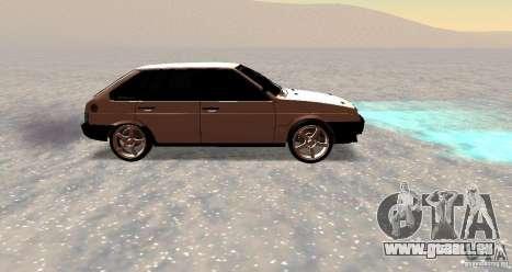 VAZ-2109i Zentrum Seite für GTA San Andreas Innenansicht