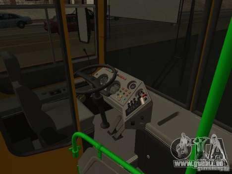 LIAZ 5256.26-01 für GTA San Andreas Innenansicht