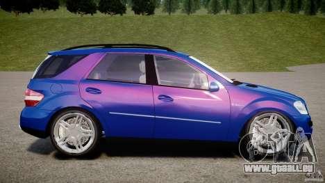 Mercedes-Benz ML63 AMG pour GTA 4 est une gauche