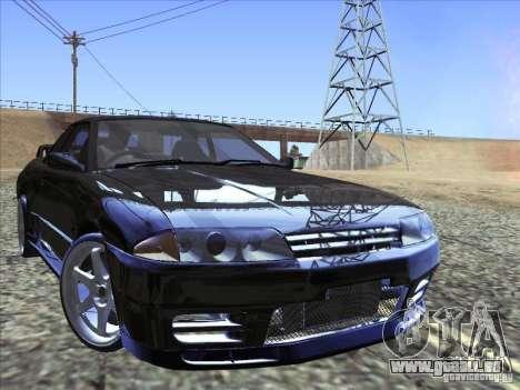 Nissan Skyline GT-R 32 1993 pour GTA San Andreas vue de côté