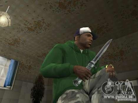 Pak intérieur armes V2 pour GTA San Andreas septième écran