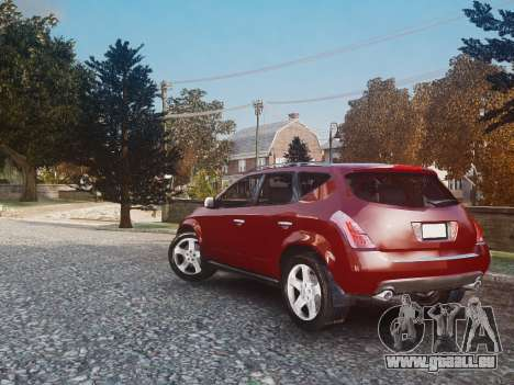 Nissan Murano Ti Z50 für GTA 4 linke Ansicht