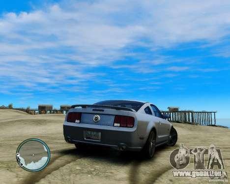 Ford Mustang GT 2005 v1.2 pour GTA 4 est une gauche